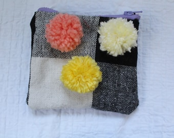 Lots of colors Pom Pom Pouch