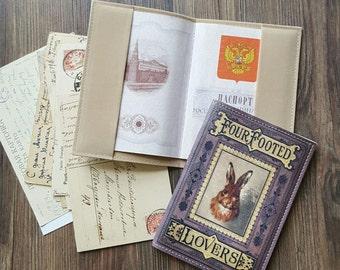 Leatherette Passport Cover - Passport holder - Passport cover - Passport Wallet - Passport Case
