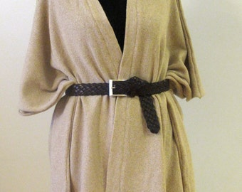 100% merino wool kimono, Poncho