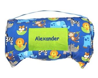Personalized Toddler Nap Mats - Safari