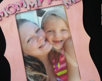 Personalized Mommy & Me Frame with Name
