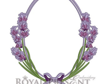 Machine Embroidery Design - Fragrant lavender #5