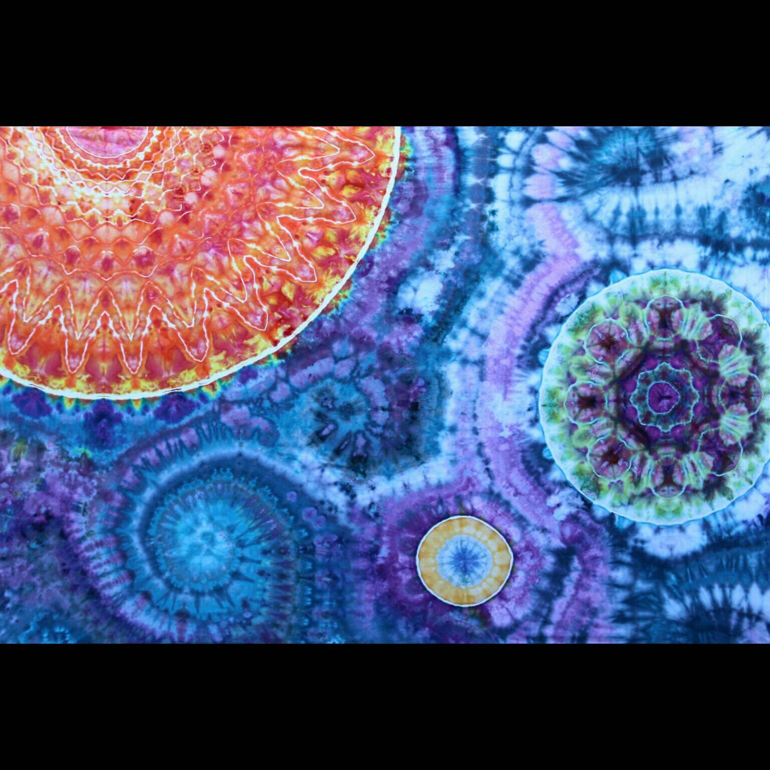 Tie dye tapestry space tapestry for Space themed tapestry