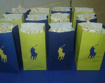 Horse popcorn bags