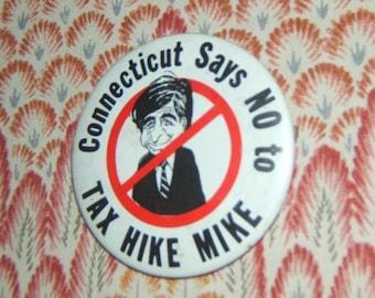 Michael Dukakis Presidential Run Button 1988