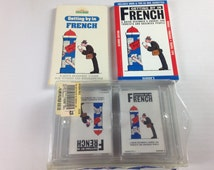 Getting By In French Books Cassette Tapes Quick Beginner Learn Language Set