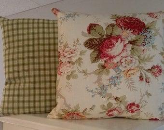 Ralph Lauren 18x18 Decortive Pillow Set, Pillow Shams, Decorative Pillow Cases, Cushion Covers, Designer Throw Pillow