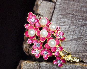 Cherry Branch Brooch #5443