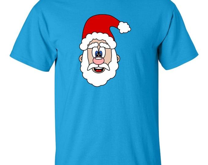 Christmas Shirt - Cute Santa Claus Christmas T-shirt