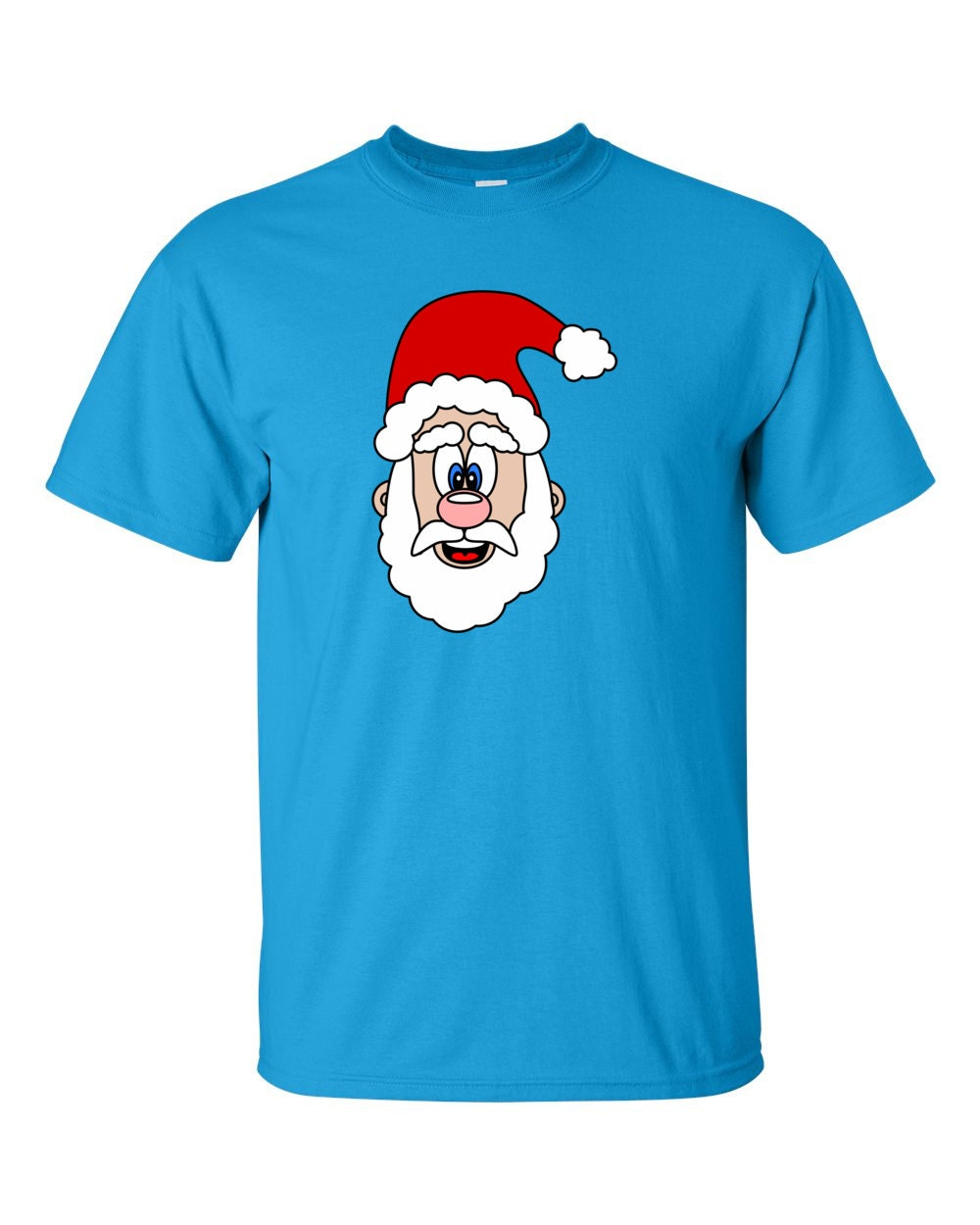 Christmas Shirt - Cute Santa Claus Christmas T-shirt