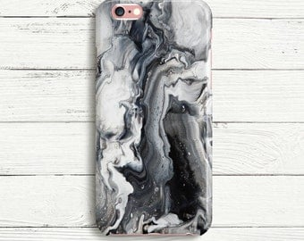 Black and White iPhone and Samsung Phone Case