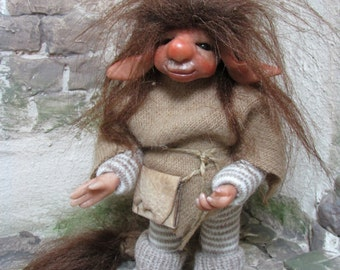 Mucke Art Doll Posable Fairy