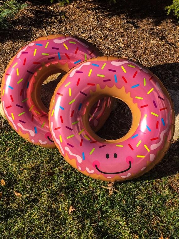 Mylar donut balloons