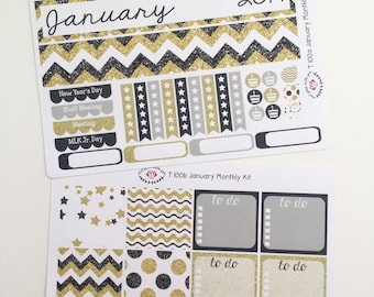 T100    January New Year Monthly Kit