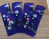 Disney Nightmare Before Christmas DPN Holder Cozy!! Beautiful!! Fits 6 inch and 7 inch Double Pointed Knitting Needles! Easy Snap Closure!!