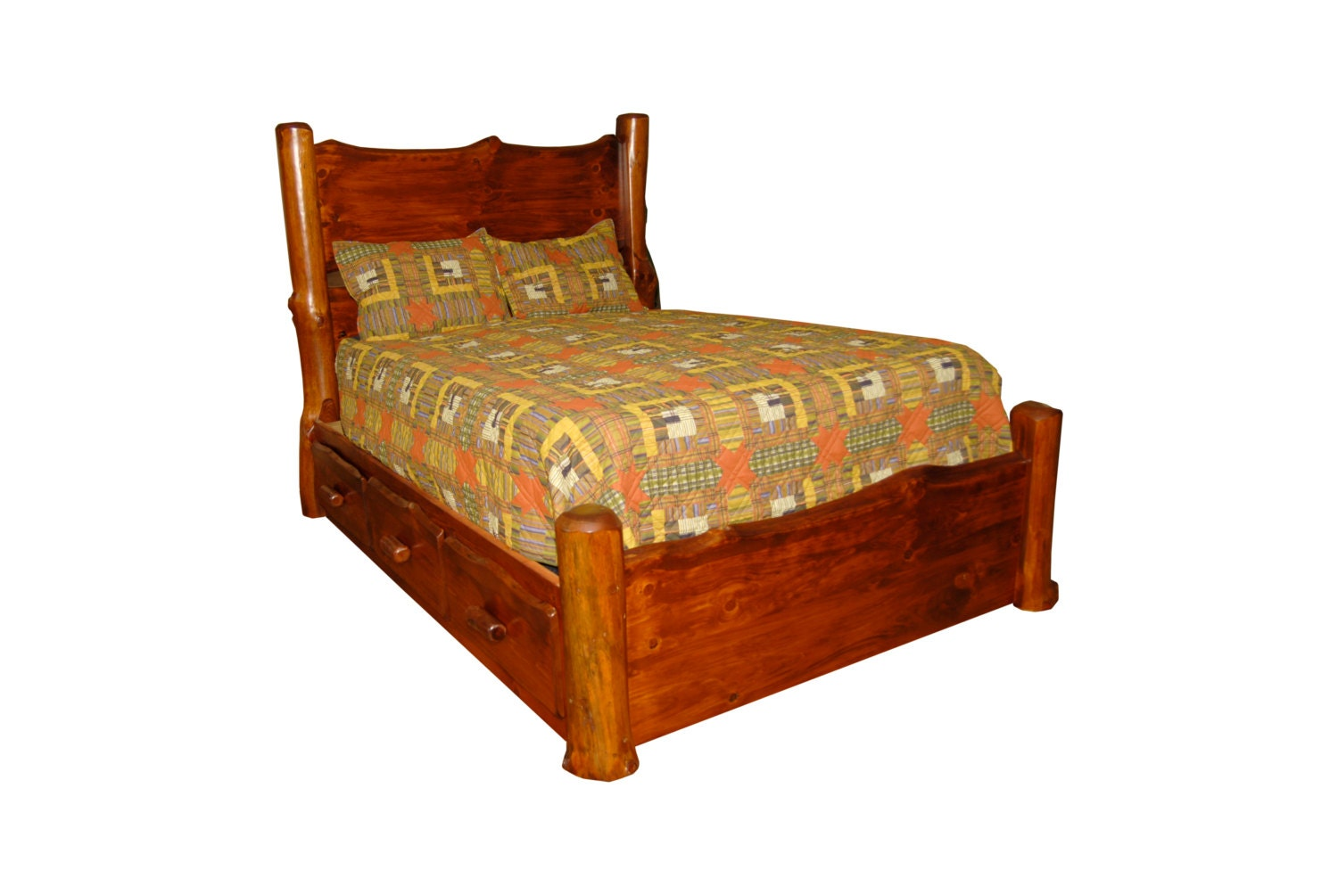 Log Queen Bed Frame 28 Images Log Queen Bed Frame With Hton Rhodes Mattress Rustic Red