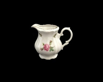 SALE Bareuther Creamer, German Porcelain, Vintage Creamer, Shabby Chic Creamer