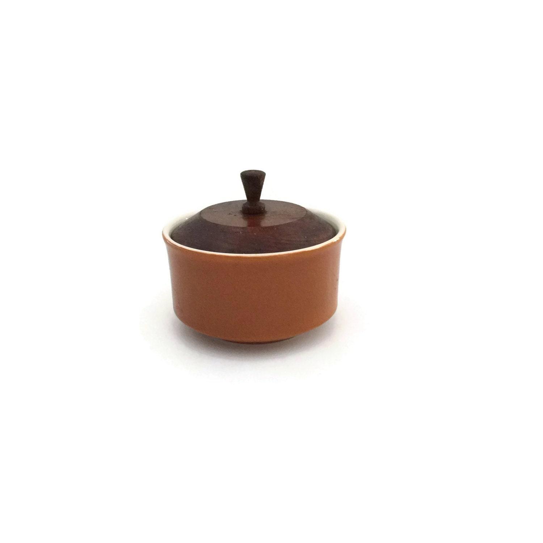 Vintage Kitchen Bowls: Sugar Bowl With Lid Retro Kitchen Modern Kitchen Decor
