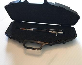 Gun Case Pen Box Single or Double Rifle Case Perfect for 30 Caliber Bolt Action Pens