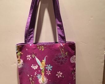 Tinkerbell Theme shoulder Bag with inside pocket