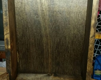 Shadow Box, handmade white pine