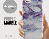 Purple marble iPhone 6s case Samsung Galaxy s7 s6 case iPhone 5s Case 6s Plus case iPhone SE Case iPhone 5C case Samsung Galaxy S5