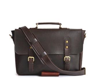 Big Briefcase, Leather Briefcase, Mens Briefcase, Mens Leather Briefcase, Womens Briefcase, Womens Leather Briefcase, Leather Laptop Bag