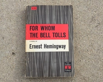 For Whom the Bell Tolls by Ernest Hemingway Vintage Book