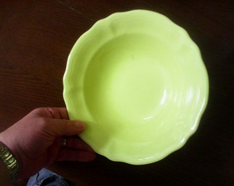 "Lemon federalist 9-3/8"" bowl"