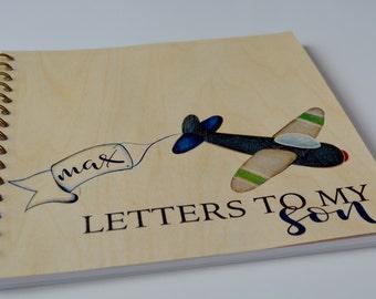 Keepsake Journal - Letters to my son - Custom Keepsake Journal