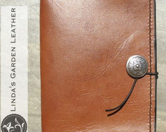 Handmade Leather Personalized Nook Simple Touch with Glowlight Cover