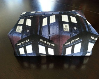 Dr. Who TARDIS Cosmetic Pouch