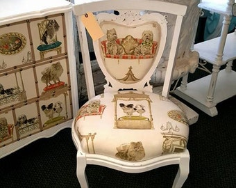 1900's Antique Restored Parlor Chair