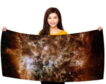 "Magellanic Cloud 30"" x 60"" Microfiber Beach Towel"
