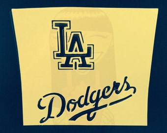 Dodgers Stencil (L.A.)