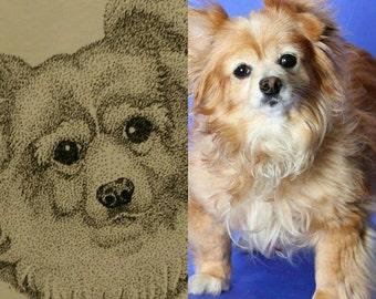 Stipple Pet Portrait (small)