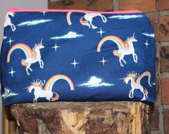 Small Knitting Project Bag-Unicorn's