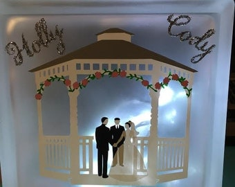 Wedding gazebo block