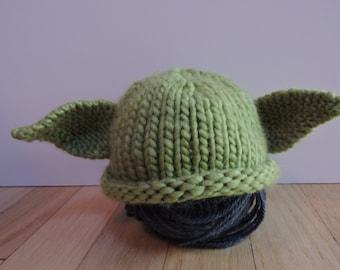 Newborn Yoda Hat