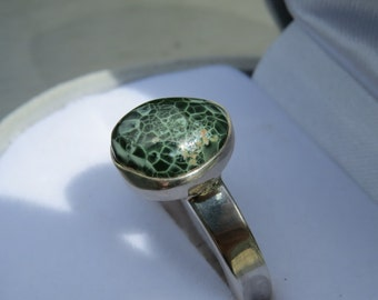 isle royale greenstone pendant chlorastrolite by gemnorth