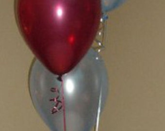 Happy 30th Birthday Party Helium Pearl Balloon Decoration DIY Cluster