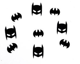 Batman Inspired Confetti | Batman Masks | Batman Logos | Batman Birthday | Batman Decoration | Batman Party Decor | Caped Crusader Confetti