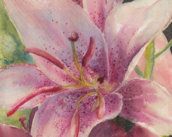Corsage - Watercolor print