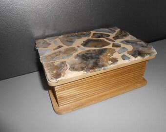 Agate Treasure Box