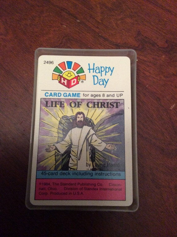 SAVE 25% W/CODE SAVE25 Happy Day Game: Life of Christ