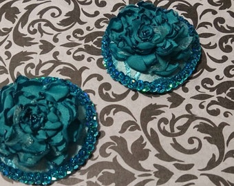 Petals of Blue Pasties