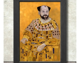 Gustav Klimt Poster Print A3+ 13 x 19 in - 33 x 48 cm Buy 2 Get 1 Free