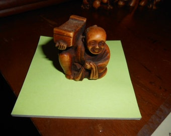 """Chinese figurines set of 5  approximately 1.5"""" tall"""