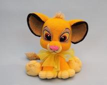 Lion King Amigurumi : Articles populaires correspondant ? crochet simba lion sur ...