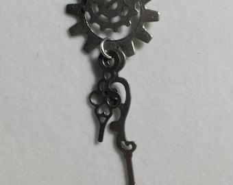 Time Ticks Industrial Steampunk Earrings